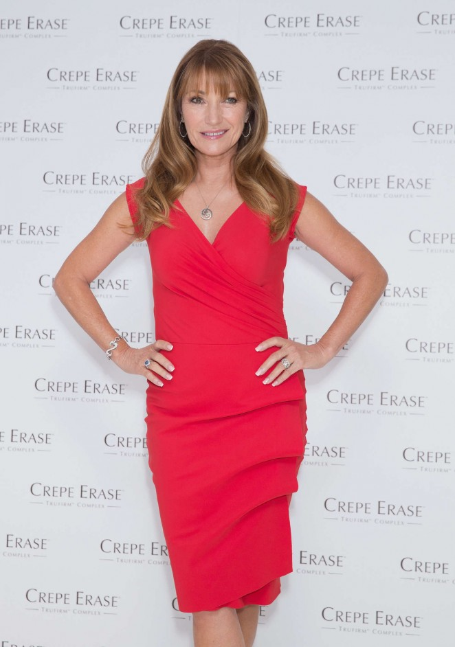 Jane Seymour – Crepe Erase Photocall in London