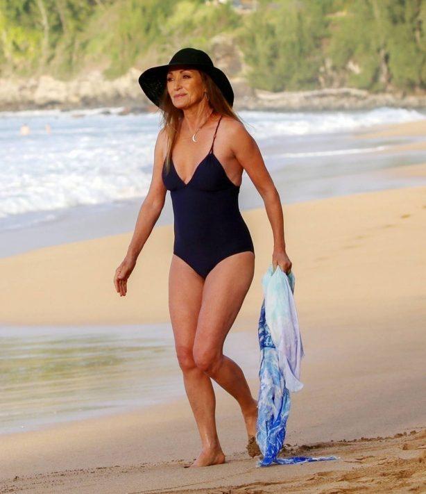 Jane Seymour - in a swimsuit during a sunshine break in Hawaii