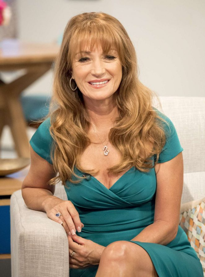 Jane Seymour - 'Lorraine' TV Show in London