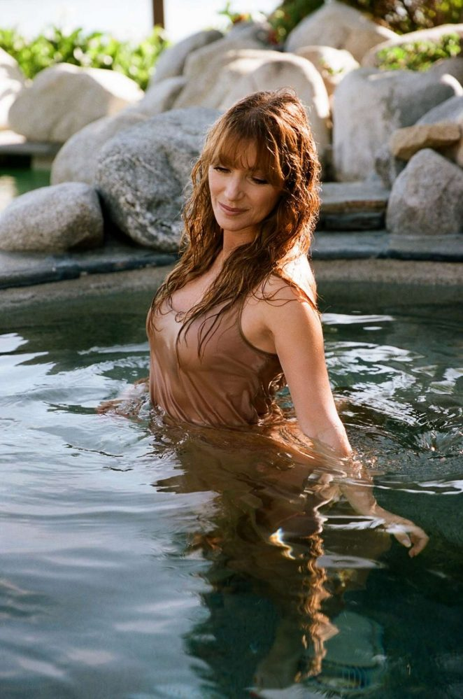 Jane Seymour - Playboy Magazine (February 2018)