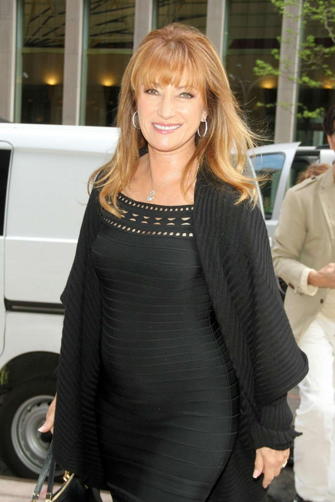 Jane Seymour - SiriusXM Radio Studios in New York