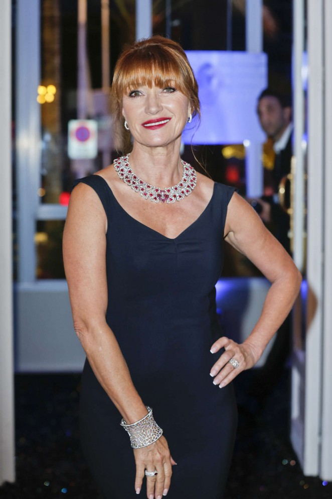 Jane Seymour – Swarovski & Hollywood Reporter Dinner in Cannes
