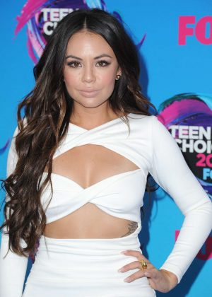 Janel Parrish - 2017 Teen Choice Awards in Los Angeles