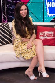 Janel Parrish - On Young Hollywood Studio in LA