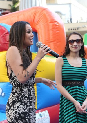 Janel Parrish - Pop-Tarts PB&J Day Celebration in LA