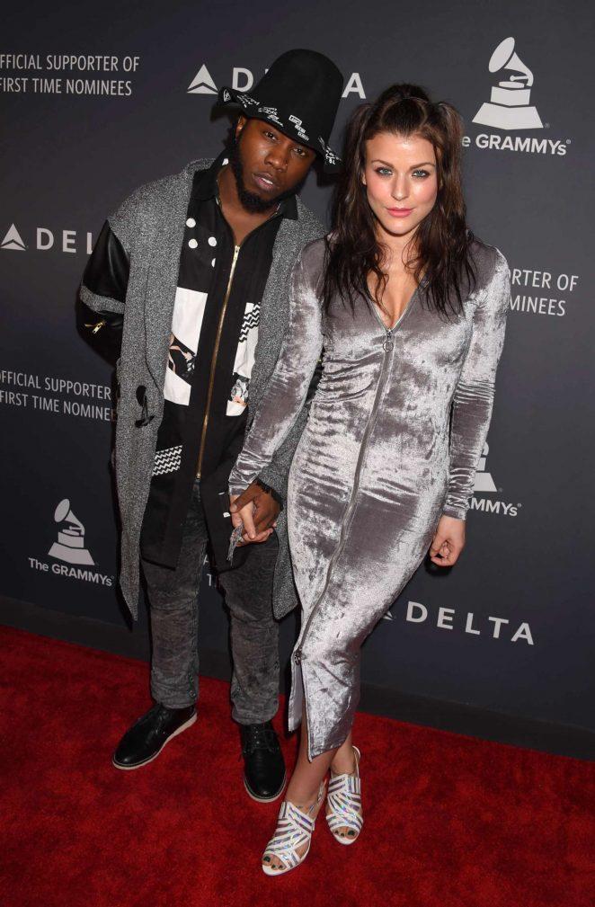 Janelle Ginestra - Delta Air Lines celebrates Grammy Weekend in Los Angeles