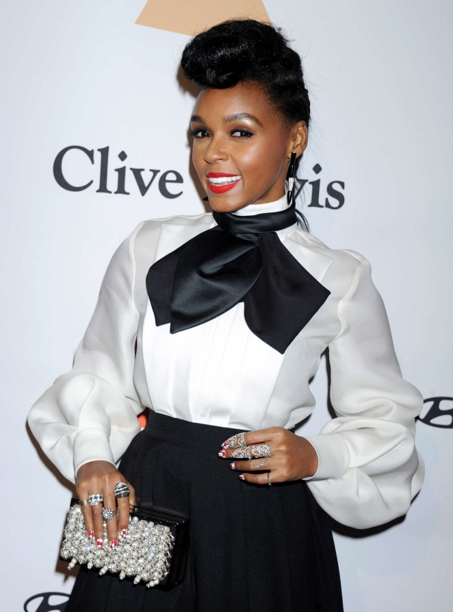 Janelle Monae - 2016 Pre Grammy Gala and Salute to Industry Icons with Clive Davis in LA