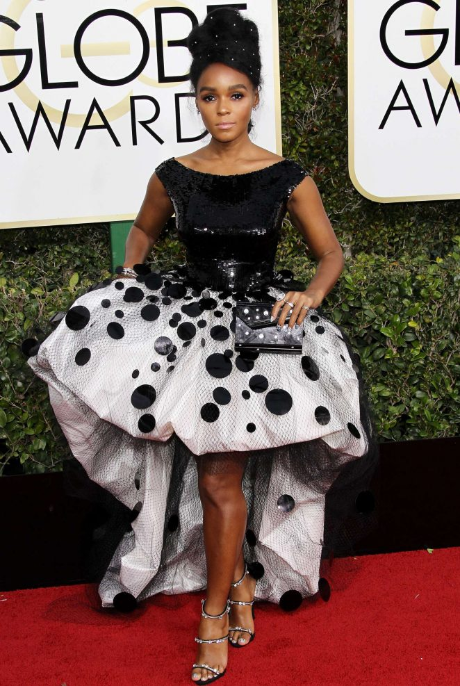Janelle Monae - 74th Annual Golden Globe Awards in Beverly Hills