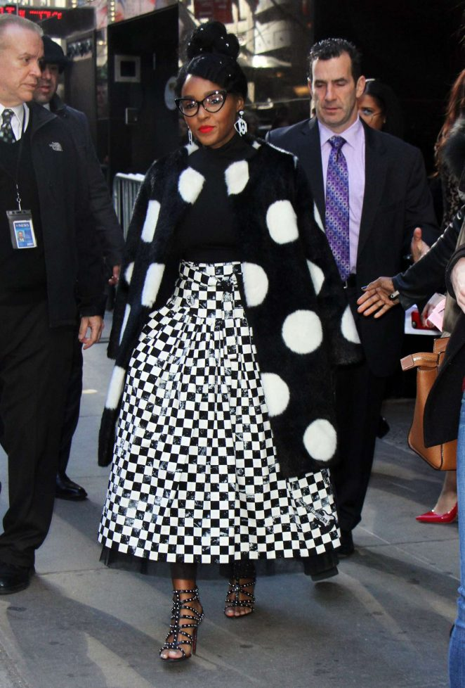 Janelle Monae at 'Good Morning America' TV Show in NYC