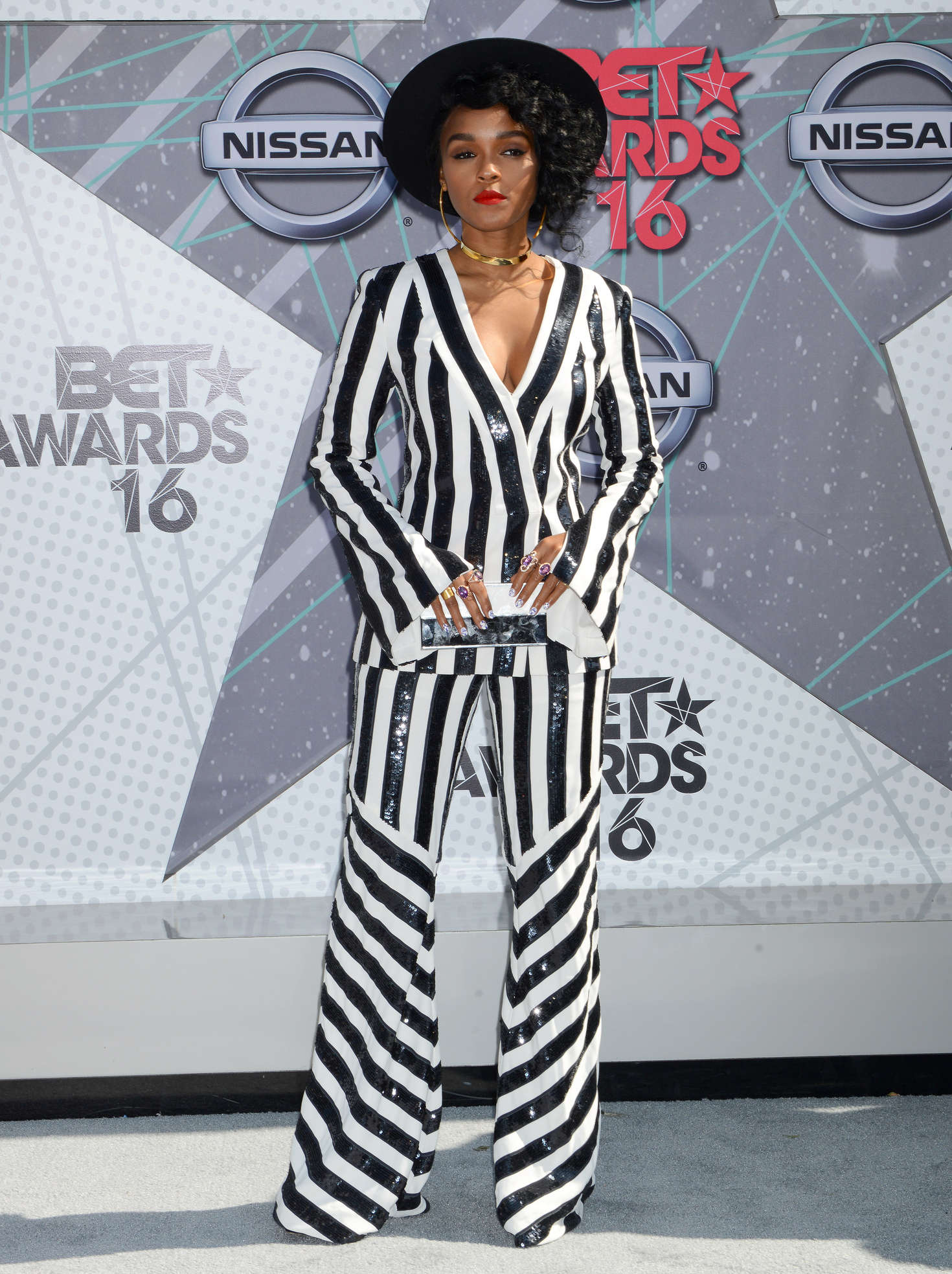 janelle monae bet awards 2016 in los angeles