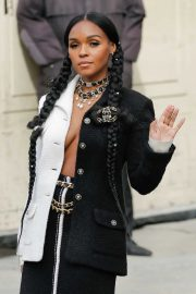 Janelle Monae - Chanel show at 2020 Paris Fashion Week Womenswear FW 20-21
