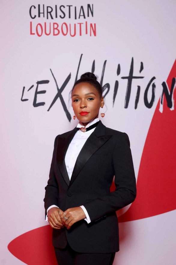 Janelle Monae - L'Exibition by Christian Louboutin opening in Paris