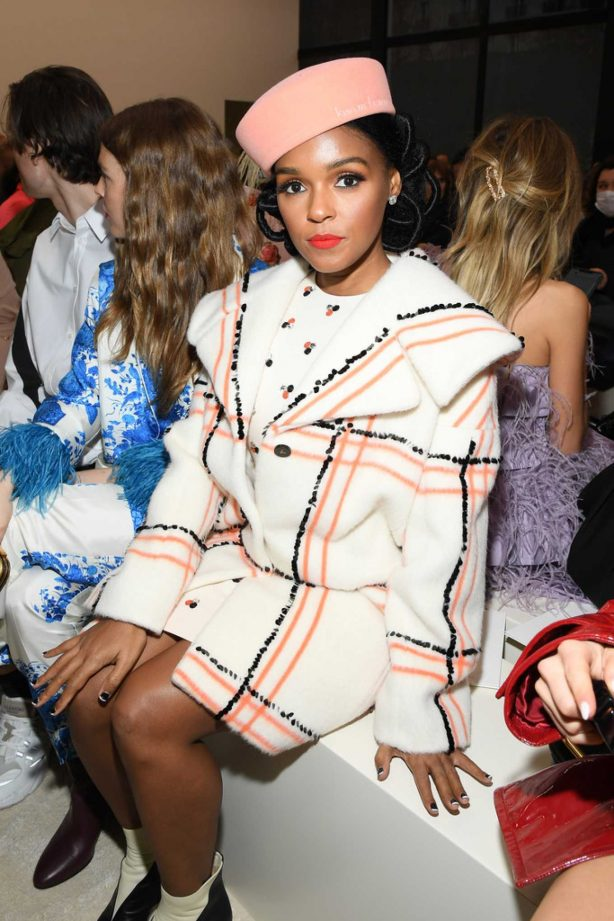 Janelle Monae - Valentino Fashion Show in Paris