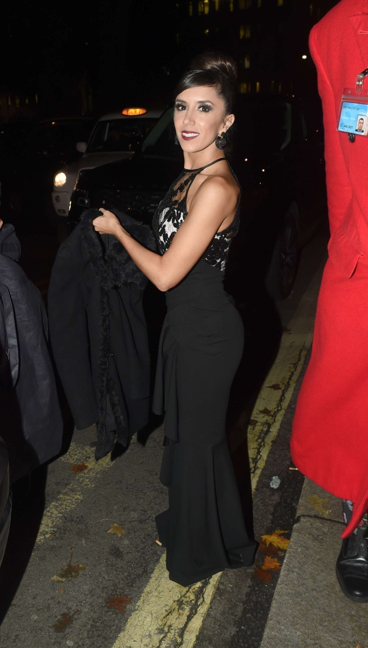 Janette Manrara - Goldie's Love in Charity Fundraiser in London