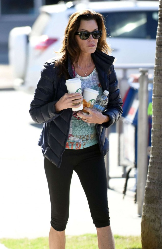 Janice Dickinson in Tights Out in West Hollywood