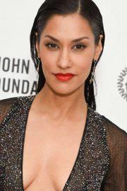 Janina Gavankar - 2020 Elton John AIDS Foundation Oscars Viewing Party in West Hollywood
