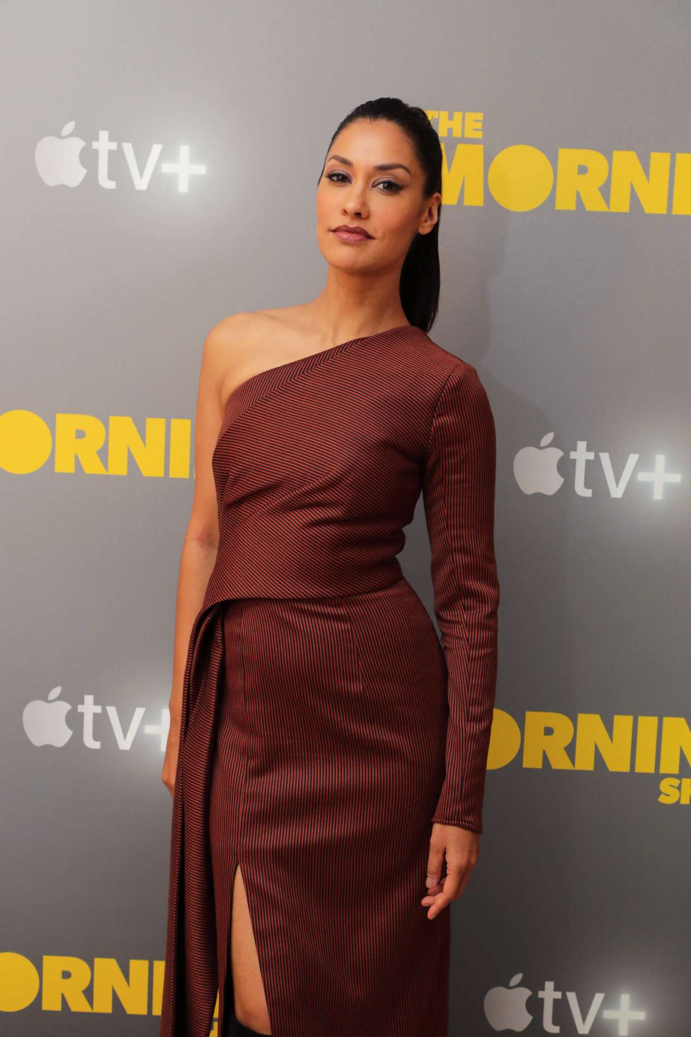 Janina Gavankar - Apple's Press Day for 'The Morning Show' in Los Angeles