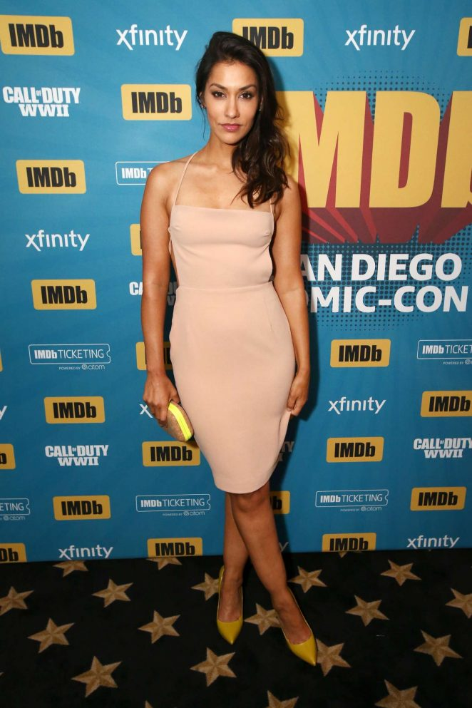 Janina Gavankar - IMDboat At San Diego Comic-Con 2017