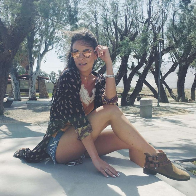 Janina Uhse - Coachella Valley Music and Arts Festival 2016 in Indio