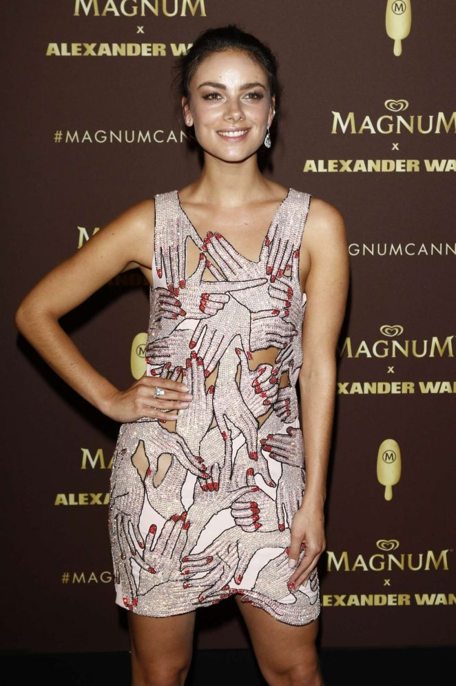 Janina Uhse - Magnum x Alexander Wang Party at 2018 Cannes Film Festival