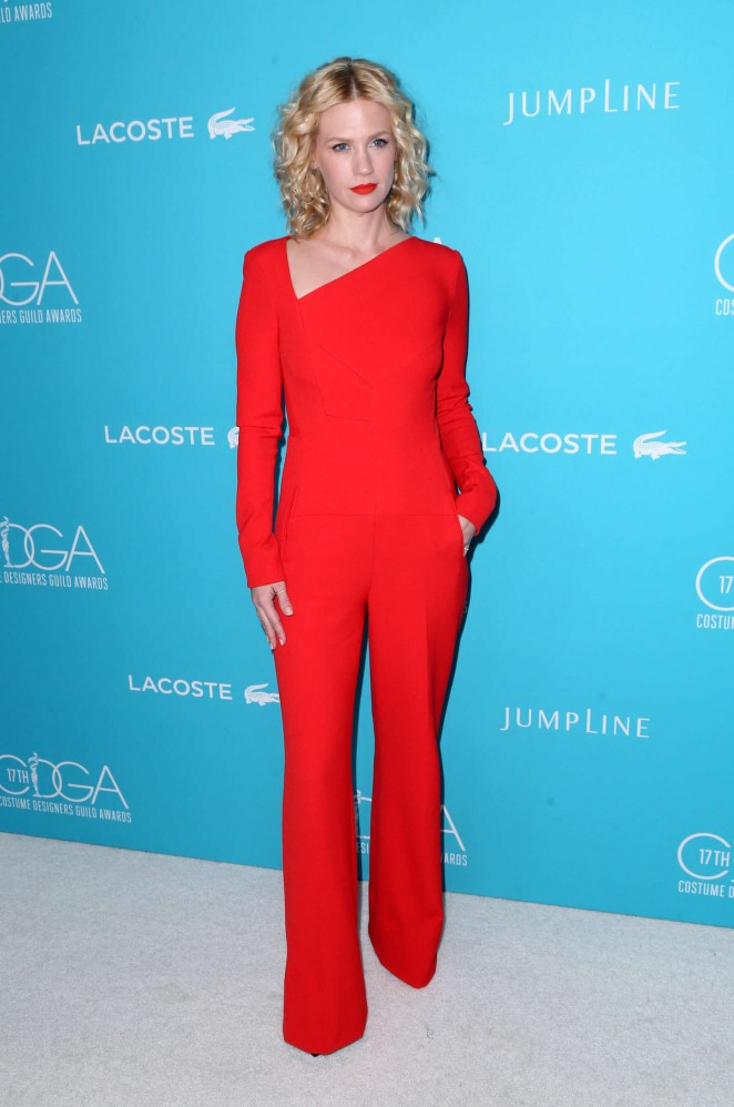 January Jones - 2015 Costume Designers Guild Awards in Beverly Hills