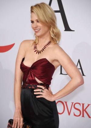 January Jones - 2015 CFDA Fashion Awards in NYC