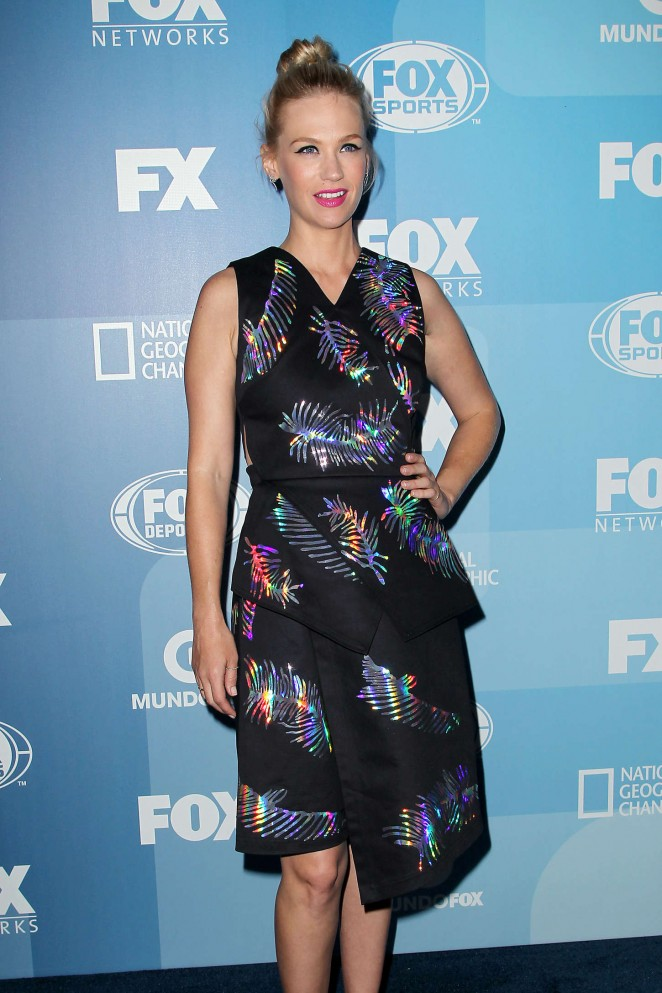 January Jones - 2015 FOX Programming Presentation in NYC