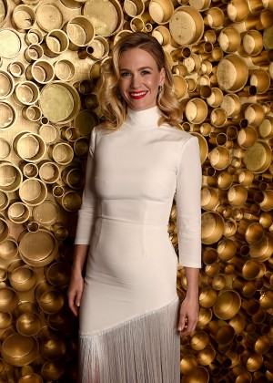 January Jones - 5th Annual NFL Honors in San Francisco