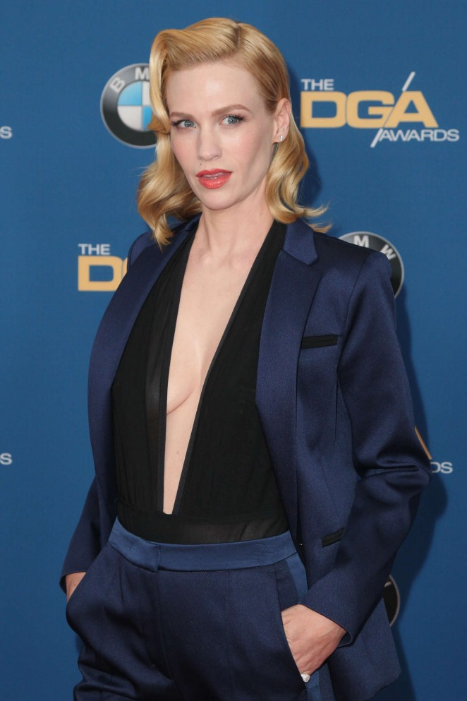 January Jones at 2015 Directors Guild Of America Awards in Century City