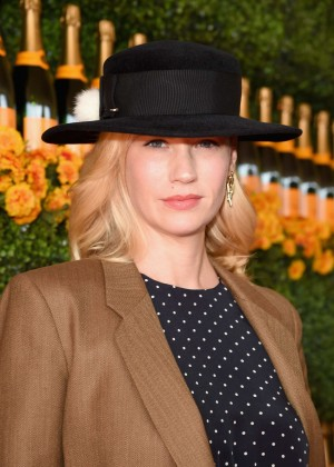 January Jones - 6th Annual Veuve Clicquot Polo Classic in Pacific Palisades