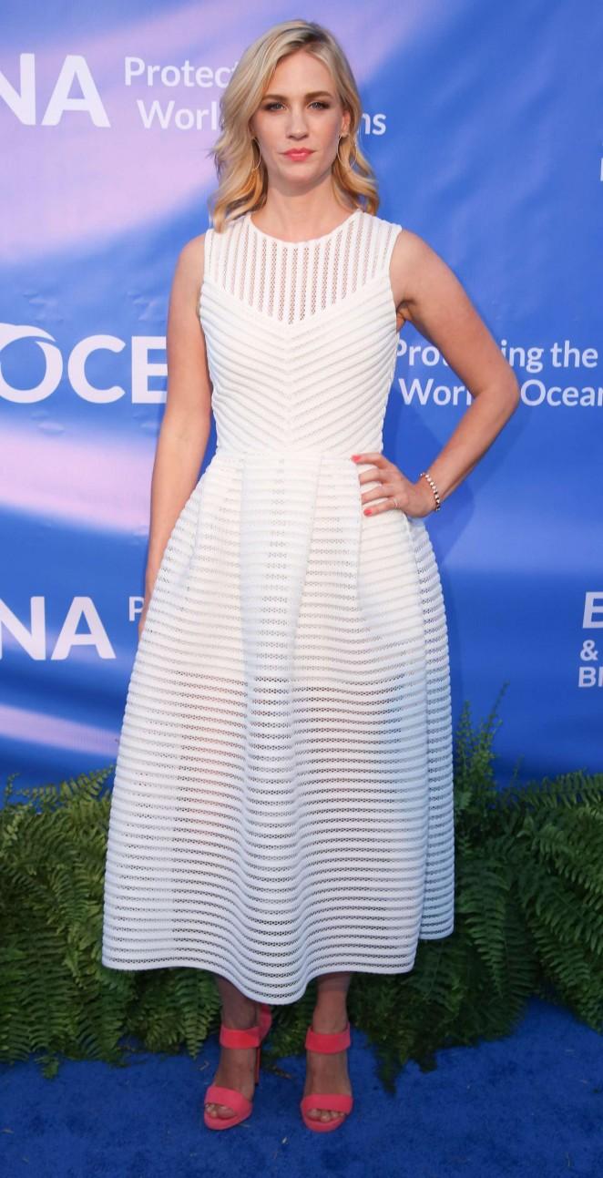 January Jones: 2015 Oceana SeaChange Summer Party -05