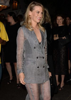 January Jones - Arrives at the Max Mara WIF Face Of The Future in LA