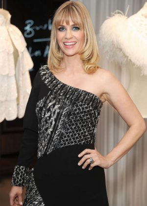 January Jones - Burberry and W Magazine Celebrate: 'The Cape Reimagined' in Beverly Hills