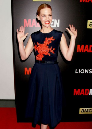 January Jones - 'Mad Men' Friends and Family Screening in NYC