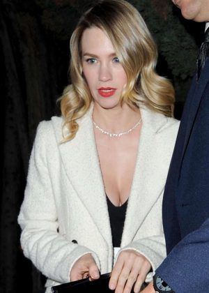 January Jones - 'Mad Men' TV Series Book Party in Los Angeles