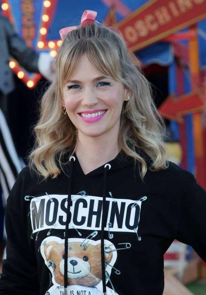 January Jones - Moschino Show SS 2019 Menswear and Women's Resort Collection in LA