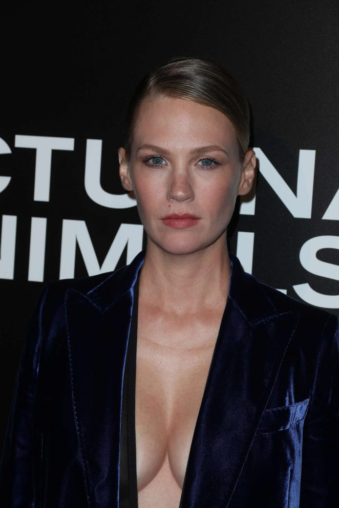 January Jones - 'Nocturnal Animals' Premiere in Los Angeles