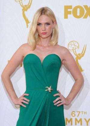 January Jones - 2015 Emmy Awards in LA