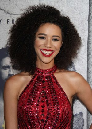 Jasmin Savoy Brown - 'The Leftovers' Season 3 Premiere in Los Angeles
