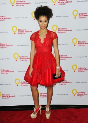 Jasmin Savoy - Children's Miracle Network Hospitals' Winter Wonderland Ball in Hollywood