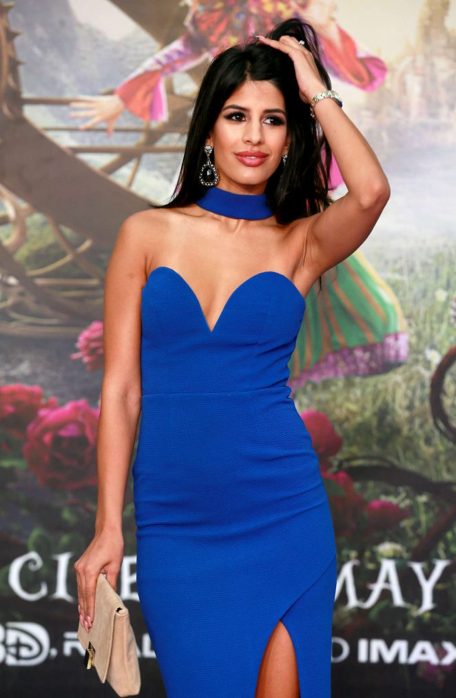 Jasmin Walia – 'Alice Through The Looking Glass' Premiere in London