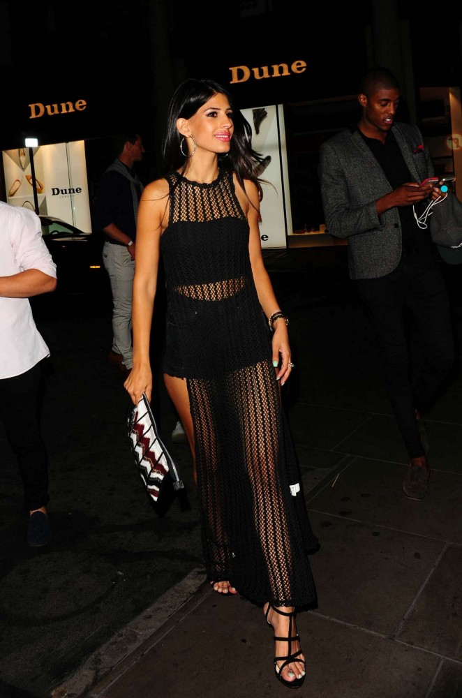 Jasmin Walia – Arrives at Libertine Club in London