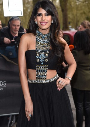 Jasmin Walia - Asian Awards 2015 in London