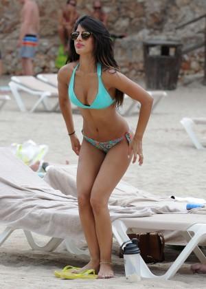 Jasmin Walia in Bikini in the Mediterranean