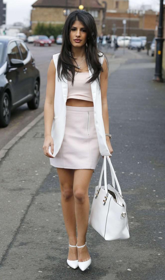 Jasmin Walia in Short Dress -10