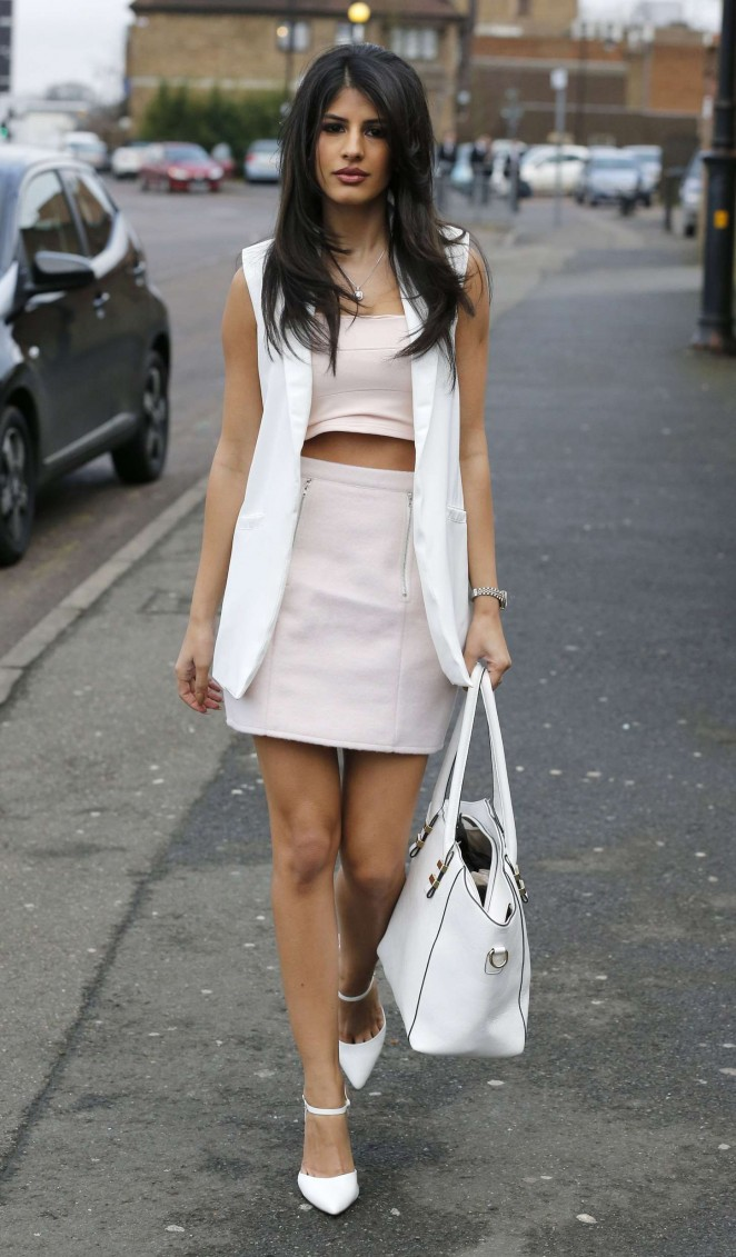 Jasmin Walia in Short Dress -19