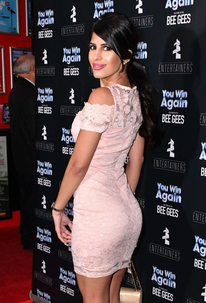 Jasmin Walia – 'You Win Again The Story of the Bee Gees' Premiere in London