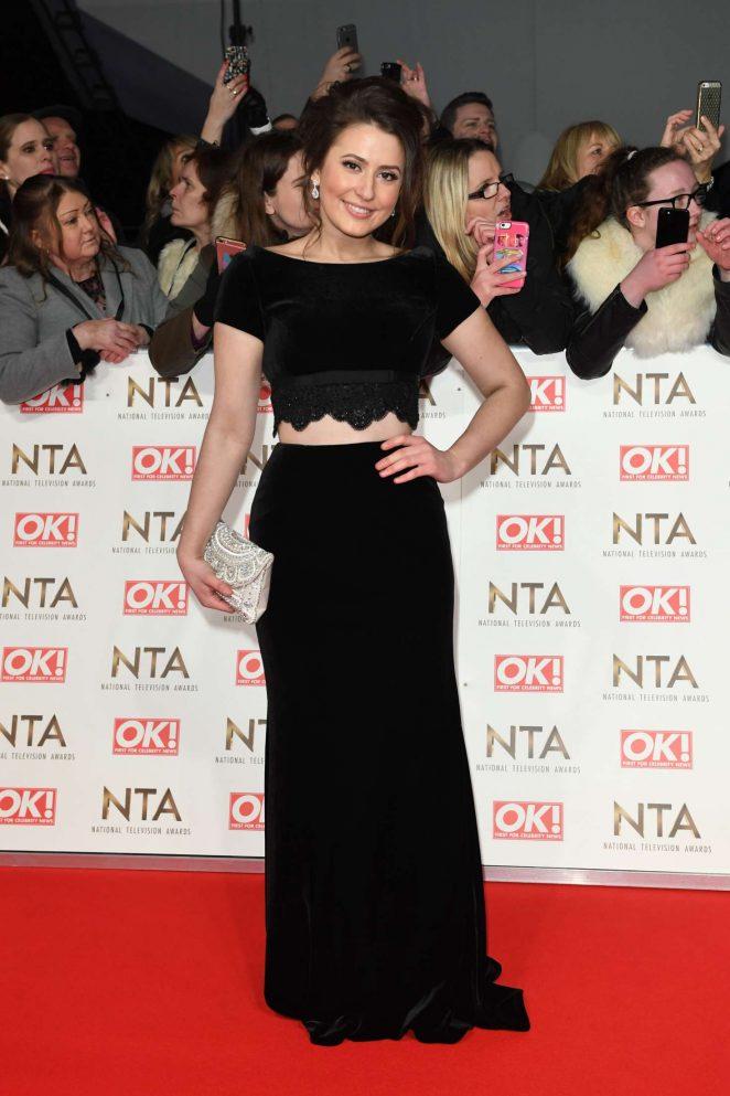 Jasmine Armfield - 2017 National Television Awards in London