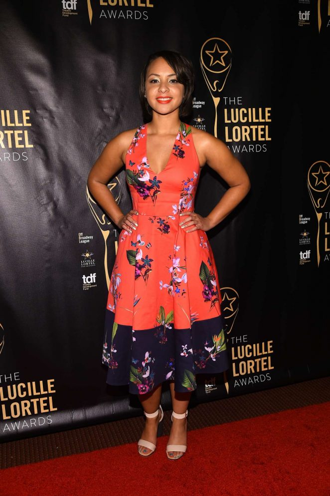 Jasmine Cephas Jones: 32nd Annual Lucille Lortel Awards -05