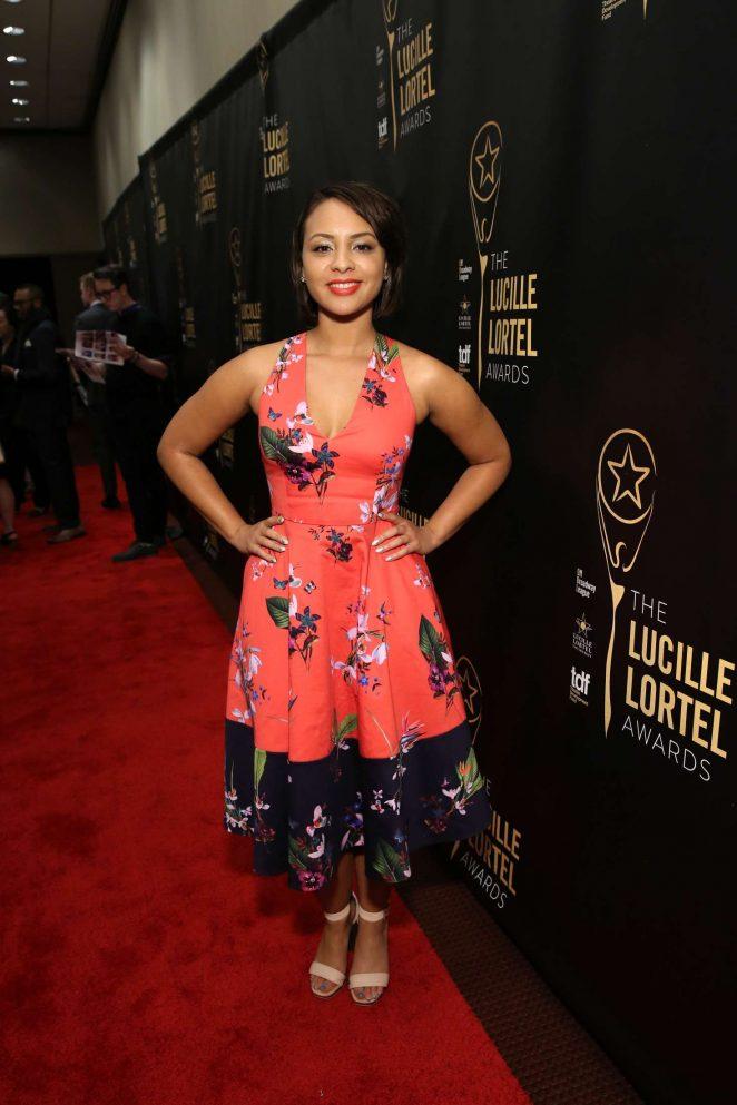 Jasmine Cephas Jones: 32nd Annual Lucille Lortel Awards -08